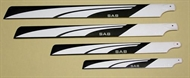 Main Blades - white 770 mm 3D Flybarless