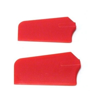 4mm QUICK 3D PADDLES (RED)