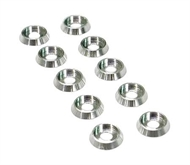 ANODIZED COLOR WASHERS (SILVER)