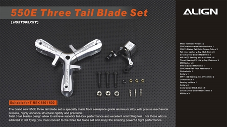 550E Three Tail Blade Set