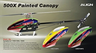 500X Painted Canopy