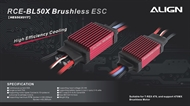 RCE-BL50X Brushless ESC