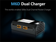 M6D Dual Channel 250w 15Ax2 DC Charger