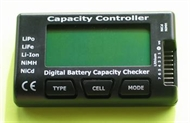 Digital Battery Capacity Checker - Lipo