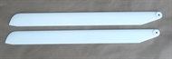 Glas-Carbon  Rotor Blade 660mm - 4mm Bolt